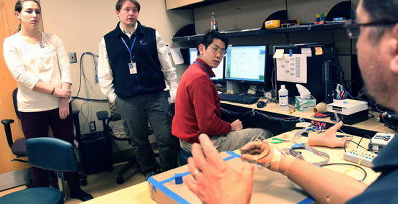 Prosthetic Hand With Sense of Touch in Development at Case and Cleveland VA