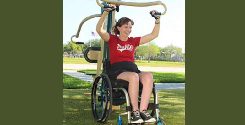 Park Gym Paralympian