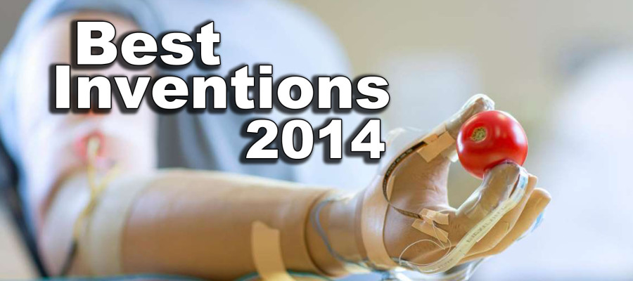 Best Inventions of 2014 | Bionic Sensing Hand