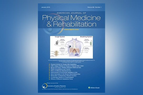 January 2019 Cover of the American Journal of Physical Medicine and Rehabilitation